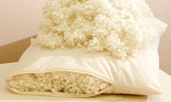 Подушка из овечьей шерсти