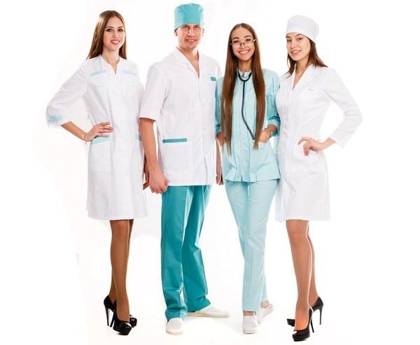 Медицинская одежда?