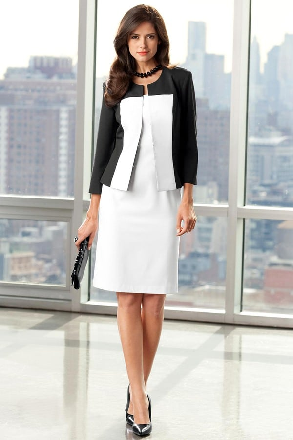 7 красивых летних платьев для офиса 2018
