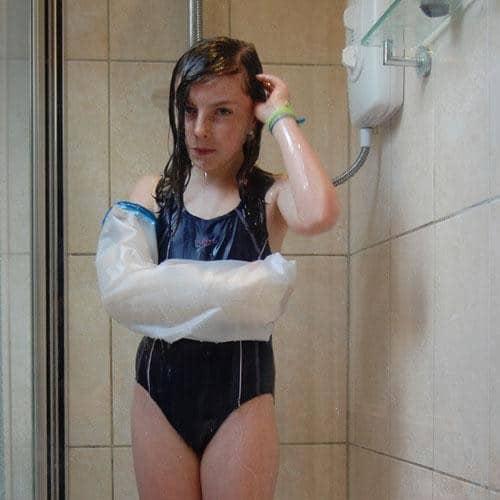 Непромокаемый чехол для гипса для ребенка