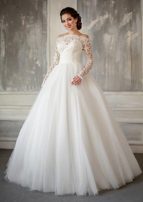 Модные свадебные платья 2019