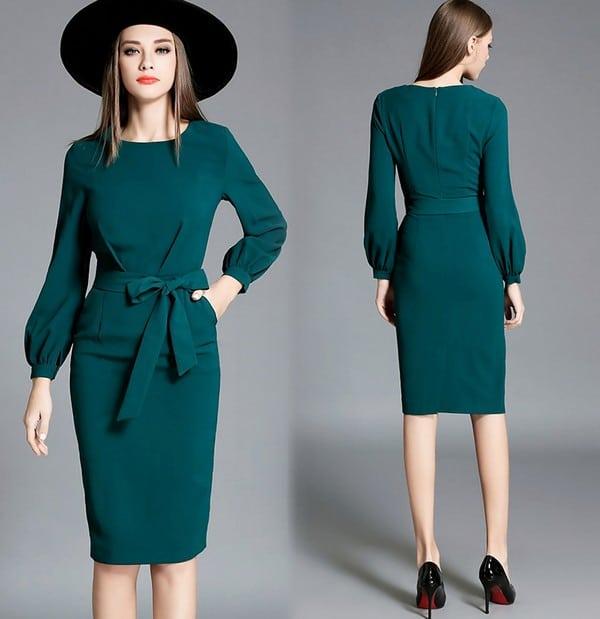 Женские осенние платья