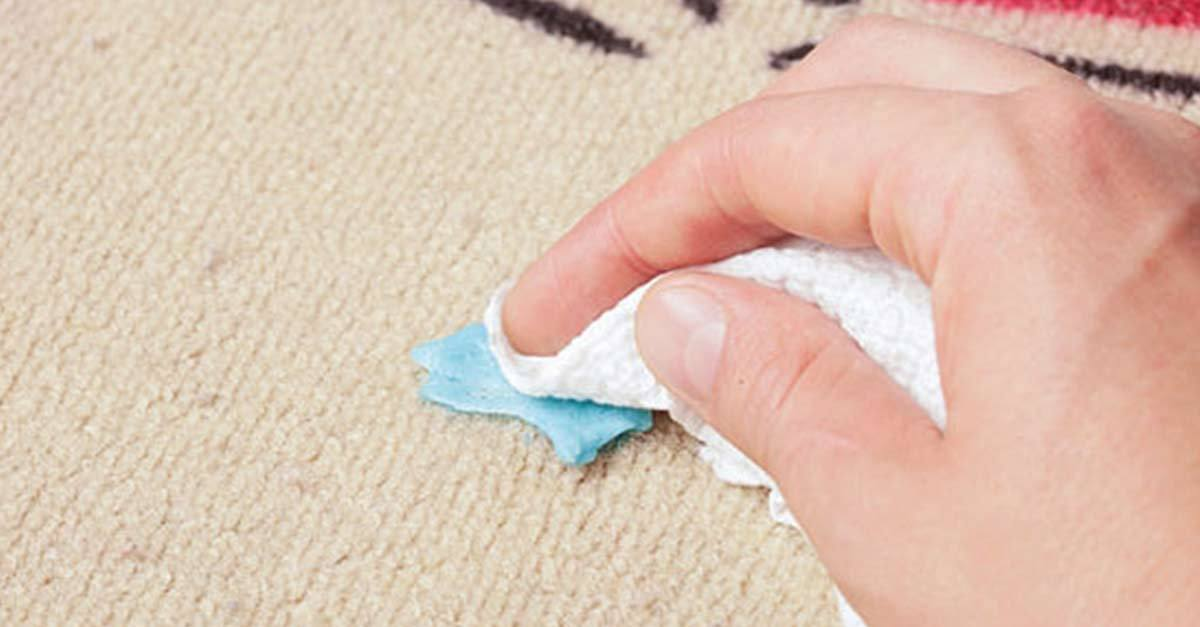 Как убрать жвачку с ковролина самостоятельно
