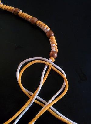 Плетение ожерелья из шнура паракорд