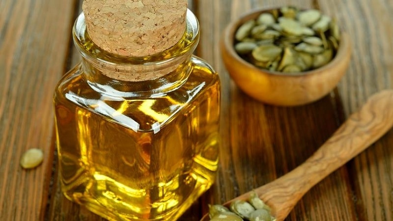 Масло тыквенных семечек и мед