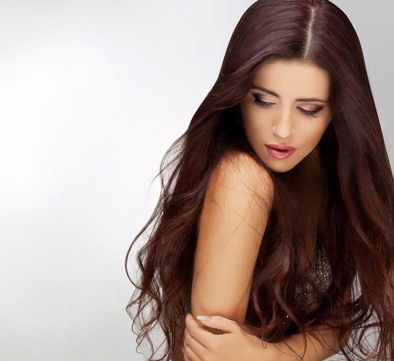 Профилактика сухости волос