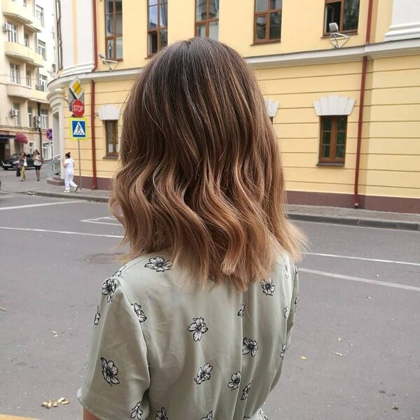 Техника окрашивания волос омбре - классическое