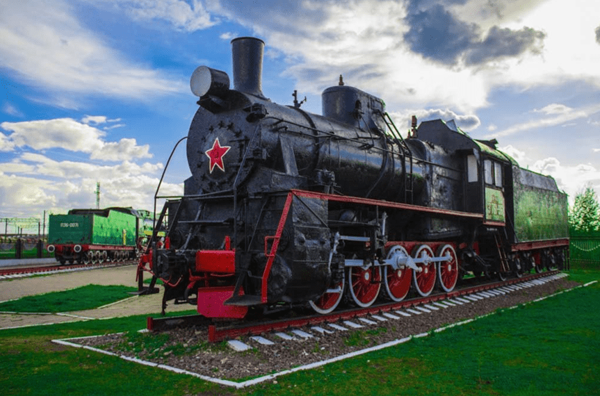 Горьковский музей паровозов