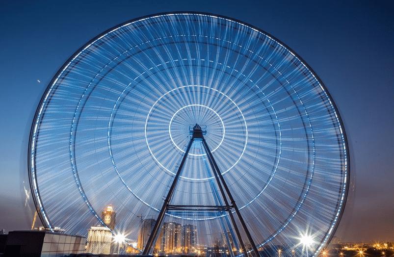 Колесо обозрения 360
