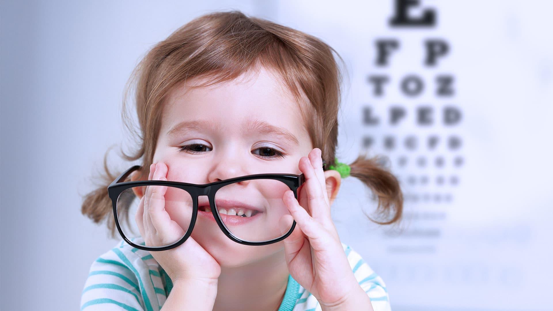От зрительных нарушений лучше избавляться в детском возрасте