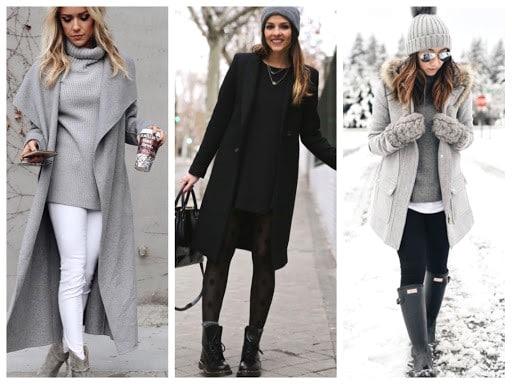 Советы по составлению модного зимнего гардероба для женщин