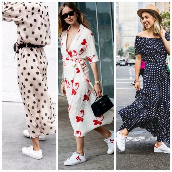С чем носить белые кеды: женские и мужские образы